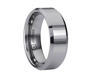 "Tungsten carbide ring with narrow transverse faces ""FANGUST"""