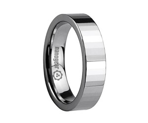 "Flat tungsten carbide ring with transverse faces ""PESLIM"""