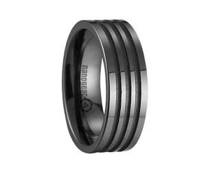 "Ceramic ring with three grooves ""SEMERIO"""