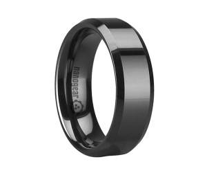 "Flat ceramic ring with beveled edges ""REMITUM"""