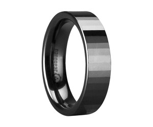 """Flat ceramic ring with transverse faces """"TRYFOR"""""""